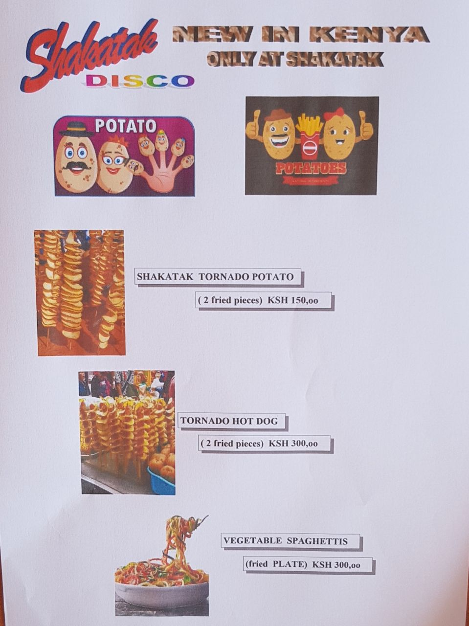 Shakatak Potatoes